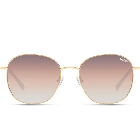 Quay Australia Jezabell 58mm Glitter Sunglasses